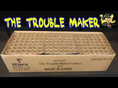The Trouble Maker 147 Shots! Vuurwerk Flowerbed NIEUW 2017!!