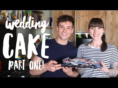 How to make Red, White and Blue Chocolate Bark with Cupcake Jemma! | Wedding Cake Ep 1 | Tom Daley