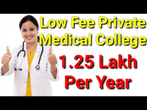 Low Fee Private Medical College In 2019