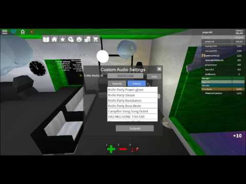 Roblox Music Codes Pt2 Knife Party Dubstep Youtube