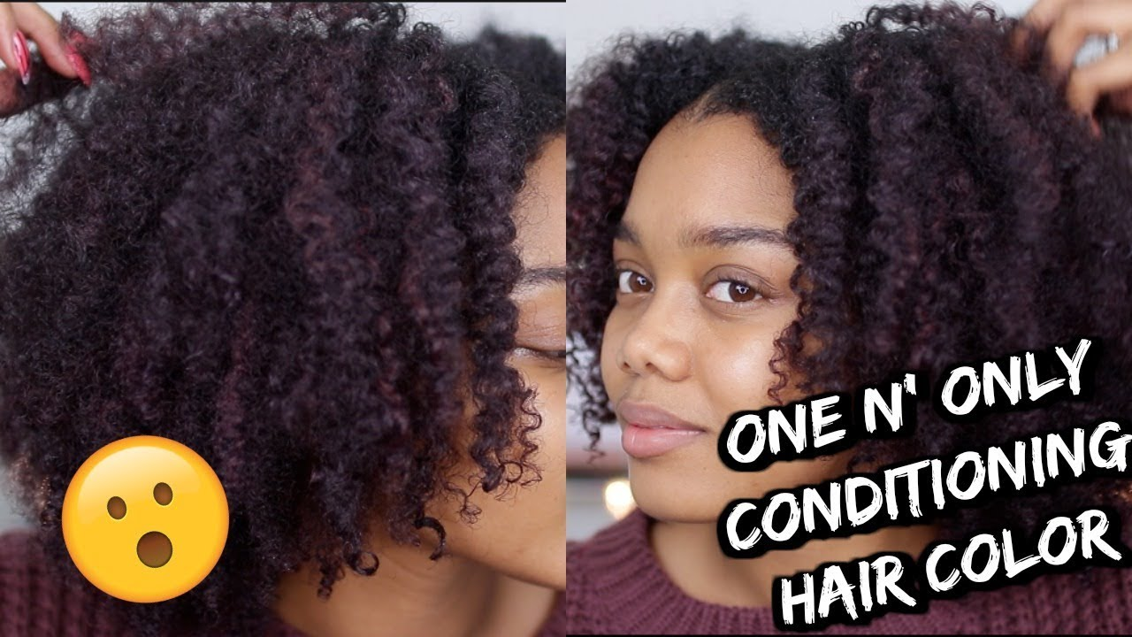 Does It Work One N Only Argan Oil Color Conditioner Youtube