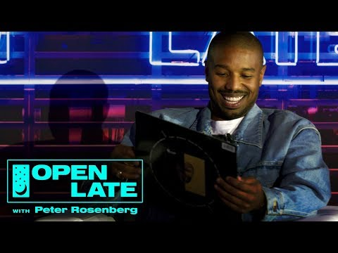 Michael B. Jordan Discusses Creed II & Getting In Killmonger Shape | Open Late 'The Switch Up' LIVE
