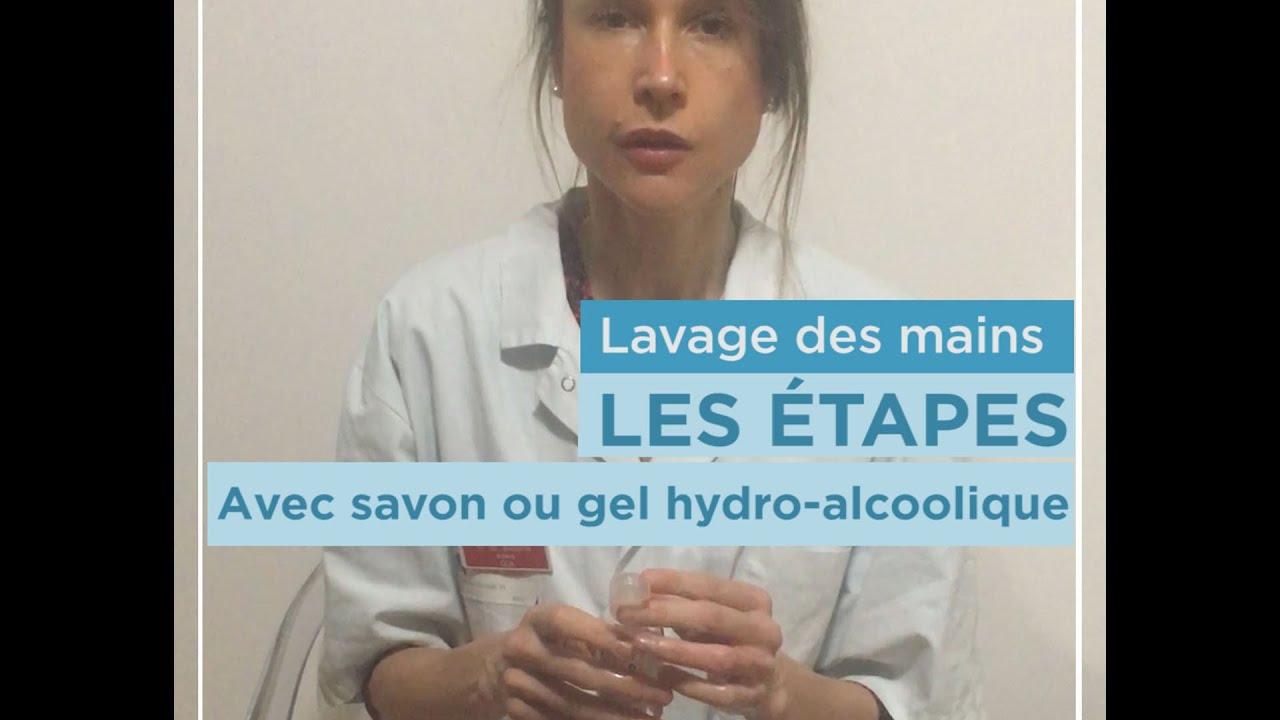 Lavage Des Mains Efficace Gel Hydrolacoolique Ou Eau Et Savon