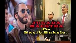Nueva Jugada maestra de Nayib Bukele │diputados no tendran nuevo edificio