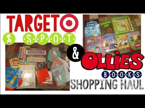 Target Dollar Spot & Ollie's Homeschool Haul | Homeschool