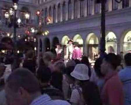 Opera Singers at the Venetian Las Vegas