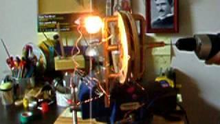 Homebuilt Power Generator Handmade - Tesla Technology Works Very Well, part1