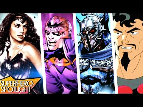 WONDER WOMAN MOVIE VILLAINS THEORIES for 2017 film // FOEBros