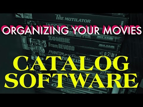 Organizing Your Movie Collection - Cataloging Software