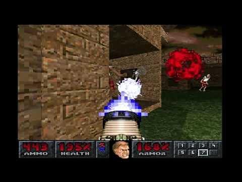 Final Doom (PS1) MAP 28: Baron s Lair (100%)  