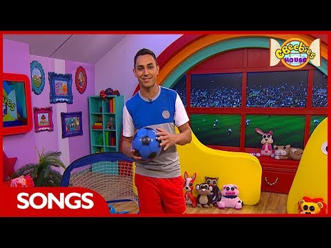 CBeebies House Song | Football Song ⚽️