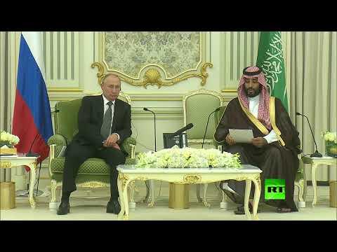 الرئيس الروسي فلاديمير بوتين يلتقي ولي العهد السعودي محمد بن سلمان في الرياض  - نشر قبل 3 ساعة