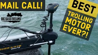 Baddest Trolling Motor to Date! - Mail Call with the Minnkota Ultrex