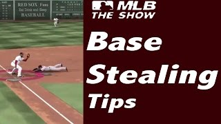 MLB 15 The Show - Base Stealing Tips