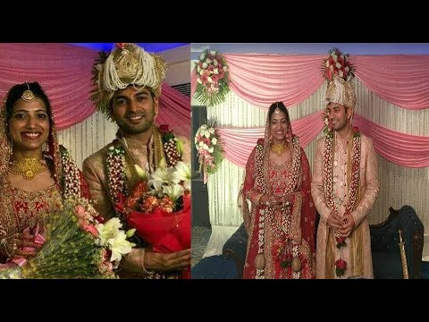 collector amrapali marriage photos | husband | wedding live video | IAS  amrapali | SP Sameer Sharma