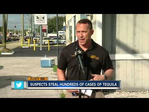 Mychal Maguire - 4 Men Arrested For Stealing $500,000 Worth Of Tequila In Tampa