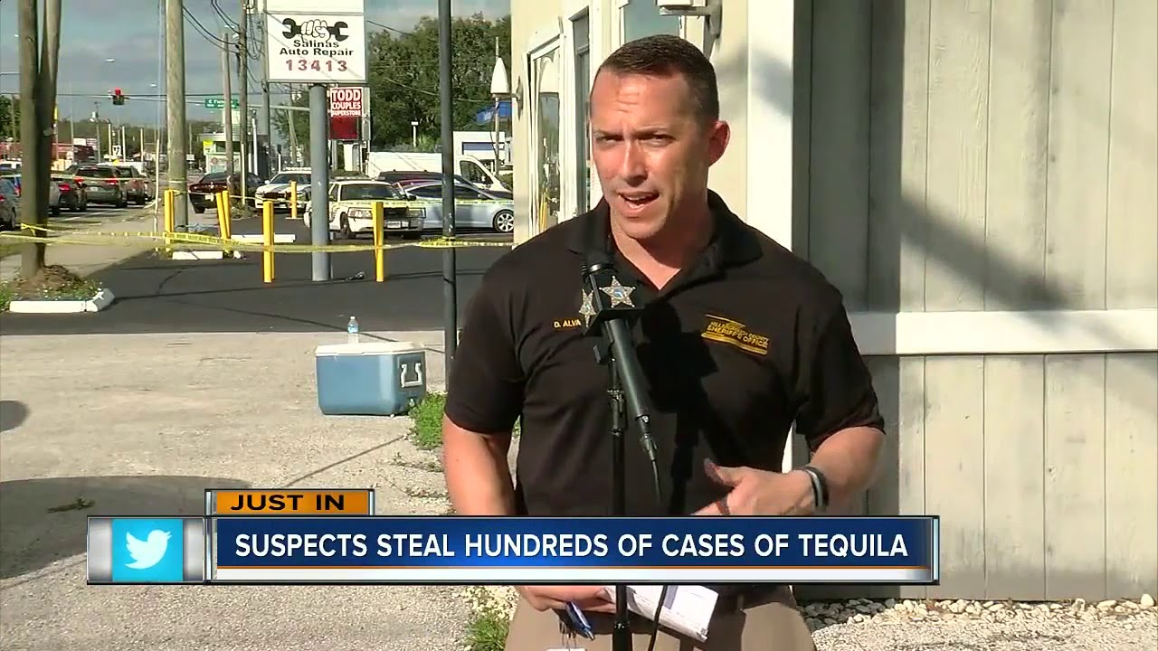 Deputies recover $500,000 worth of stolen Patron Tequila, 4 arrested in Hillsborough County