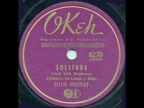 Billie Holiday / Solitude
