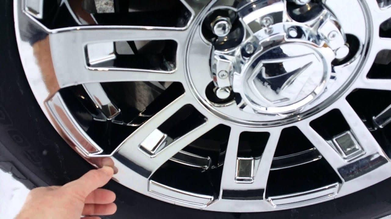 2014 Toyota Tundra TSS Chrome Peeling - YouTube
