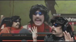 Dr Disrespect Reacts to Him vs Summit1G