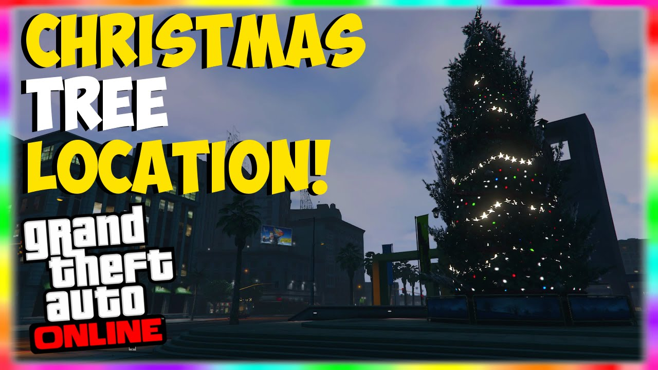 GTA 5 Online GIANT Christmas Tree Location!