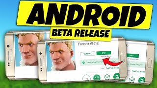 FORTNITE (ANDROID) BETA DOWNLOAD