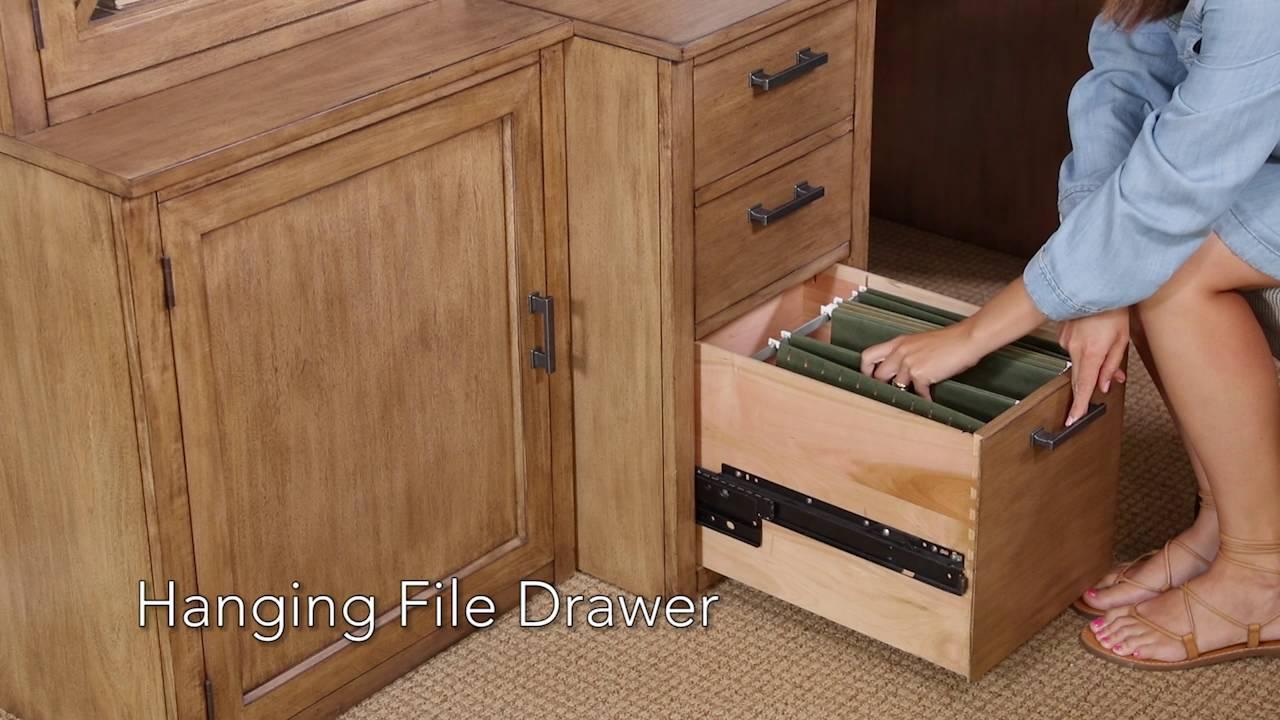 Hanging File Drawer   YouTube