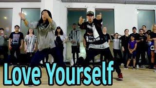 love yourself justin bieber dance   mattsteffanina choreography int adv hip hop class