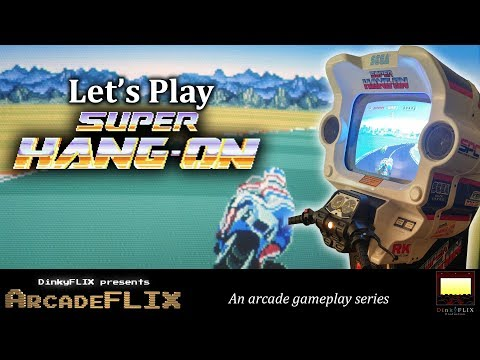 Super Hang On (1987) Video Arcade Game Introduction and Gameplay