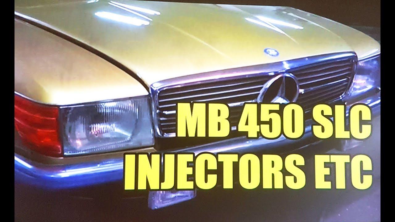 Mercedes-Benz 450 SLC Project PART 2 injector hoses Bosch D-Jetronic M117