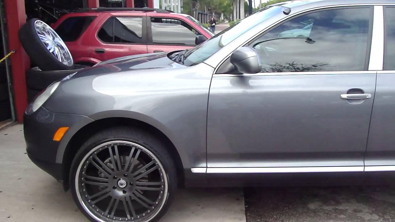 Porsche Cayenne On 24 Quot Asanti S Rims Grown Man Shit
