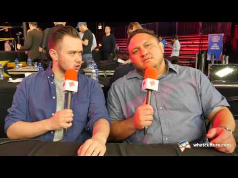 Samoa Joe Interview: WWE NXT Dallas/WrestleMania 32 - WhatCu