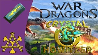 War Dragons - Crystal Howitzer?!! New tower, new currency, new seasonal branch!
