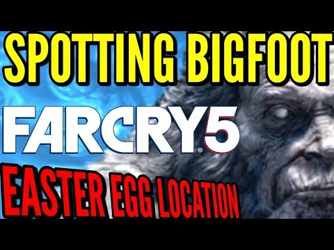 FARCRY 5 BIGFOOT FOUND IN CO-OP! YETI HUNT PART 3!