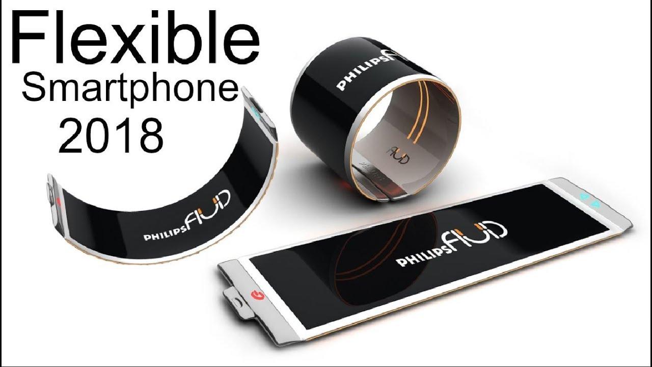 Flexible Smartphone 2018 with OLED Display !