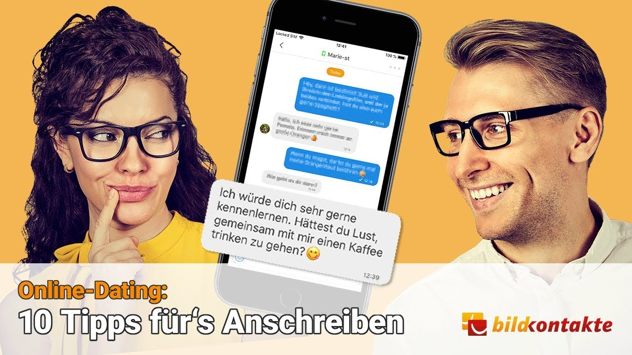 Ein effektives Online-Dating-Profil