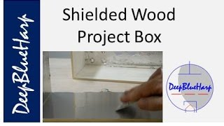 Shielded Wood Project Box
