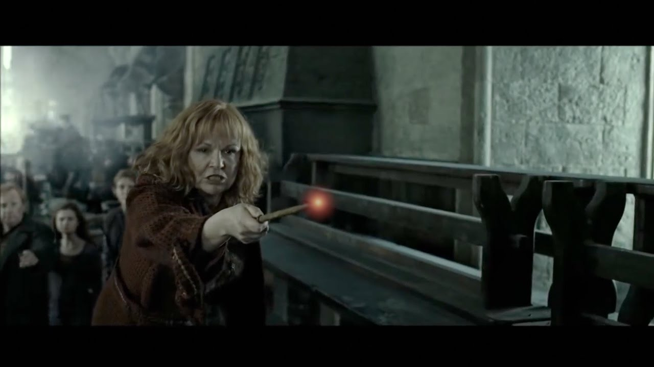 Molly Weasley vs Bellatrix Lestrange - YouTube