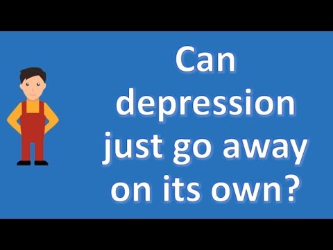 can-depression-just-go-away-on-its-own-?-|number-one-faq-health-channel