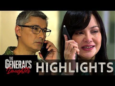 Corazon and Marcial worries for the safety of Rhian's operation | The General's Daughter