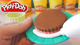 Пластилин для Детей - Изготовление Тортов | Play Doh(Детский пластилин - Play Doh Sweet Shoppe Cake Making Station, Делаем Торты., 2014-10-22T08:02:21.000Z)