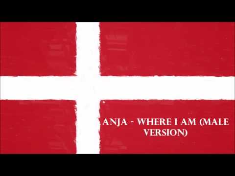Denmark Eurovision 2017 - Anja - Where I Am (Male Version)