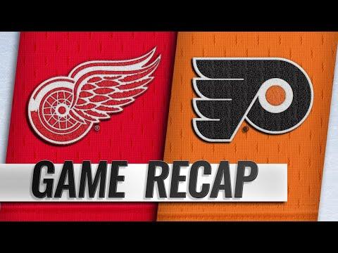 Konecny's OT winner lifts Flyers by Red Wings