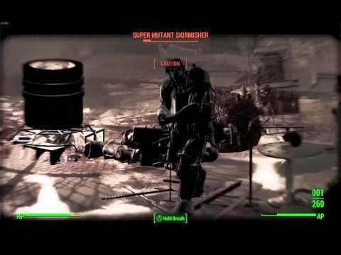 Fallout 4: .50 cal sniper rifle