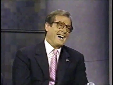 Roger Moore on Late Night, June 4, 1992