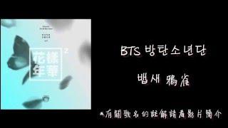 【韓中字】 BTS 방탄소년단 - 뱁새 鴉雀 (詳細註解) (Lyrics with Hangul)