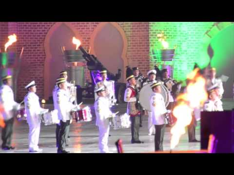 KL International Tattoo 2014 - Brunei Contingent