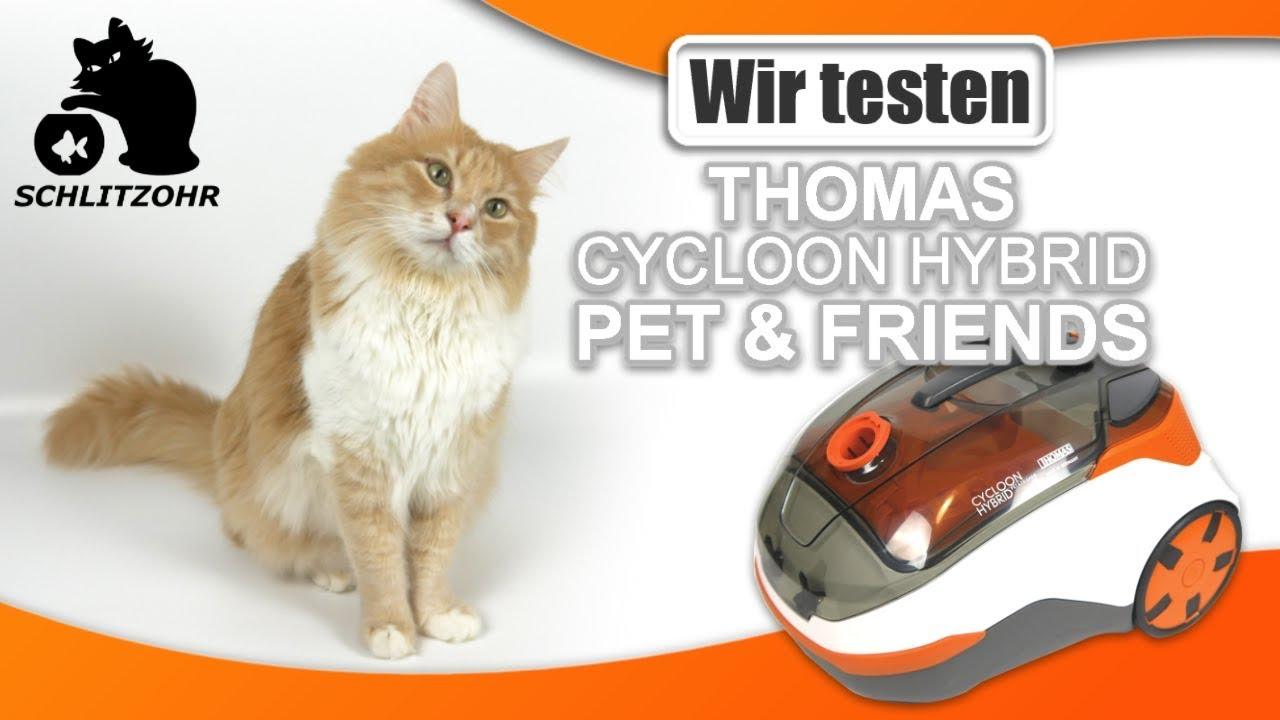 im test thomas cycloon hybrid pet friends katzenhaare entfernen staubsauger f r. Black Bedroom Furniture Sets. Home Design Ideas
