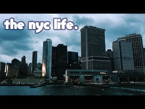 moving to NYC//college life