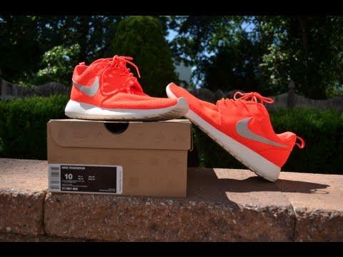 huge discount d4522 56d8c Nike Roshe Run   Total Crimson  Review   On Feet  - YouTube